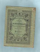 Album Ancien Dépliant Broderie Tissus  Alphabets Variés N.Alexandre &Cie - Fashion