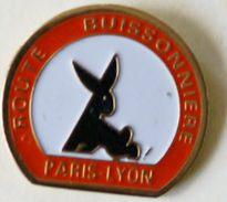 S 254 )..........ROUTE  BUISSONNIÈRE....................PARIS  LYON.. - Pin's