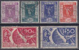 FRANCIA 1936 Nº 322/27 USADO - Francia