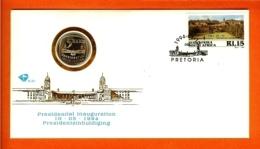 RSA, 1994, Mint F.D.C., President Mandela Plus Super Mint Coin Of 5 Rands, Mi 603c, - Zuid-Afrika (1961-...)