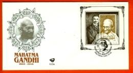 RSA, 1995, Mint F.D.C., MI 6-23a, Block 38, Mahatma Ghandi - South Africa (1961-...)