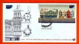RSA, 1997, Mint F.D.C., MI 6-58, Block 56, Pacific 97 - Brieven En Documenten