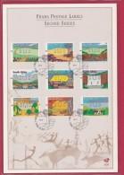 RSA, 1998, Mint F.D.C., MI 6-91,  Frama Labels Card - Brieven En Documenten