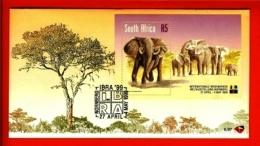 RSA, 1999, Mint F.D.C., MI 6-97, IBRA 99 (Elephant) - Brieven En Documenten