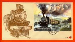 RSA, 1999, Mint F.D.C., MI 6-98, SAPDA Train Block 76 - Brieven En Documenten
