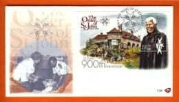 RSA, 1999, Mint F.D.C., MI 7-04, Block Mandela (order St. John ) - Brieven En Documenten