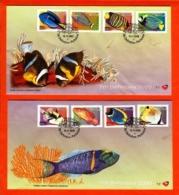 RSA, 2001, Mint F.D.C., MI 7-1, 7-2, 7-3, Definitive's Fishes (11 Values) - Zuid-Afrika (1961-...)