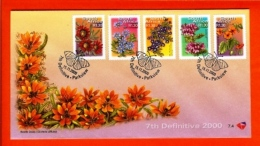 RSA, 2000, Mint F.D.C., MI 7-4, Definitive's Flowers (R 1,30) - South Africa (1961-...)