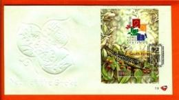 RSA, 2001, Mint F.D.C., MI 7-9, Block 83, Hong Kong Snake - South Africa (1961-...)
