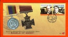 RSA, 2001, Mint F.D.C., MI 7-21, Anglo Boer War (Angels Of Mercey) - Zuid-Afrika (1961-...)