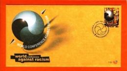 RSA, 2001, Mint F.D.C., MI 7-23, Anti Racism - Zuid-Afrika (1961-...)