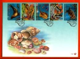 RSA, 2001, Mint F.D.C., MI 7-32 + 7-33, Marine Life - Zuid-Afrika (1961-...)