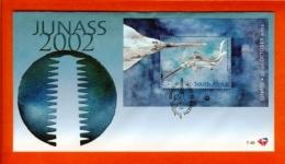 RSA, 2002, Mint F.D.C., MI 7-46, Block 90 Fish 1 Junass - South Africa (1961-...)