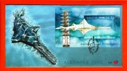 RSA, 2002, Mint F.D.C., MI 7-47, Block 91 Fish 2 Algoapex - South Africa (1961-...)