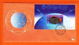 RSA, 2002, Mint F.D.C., MI 7-49, Block 89 World Postal Day - Zuid-Afrika (1961-...)