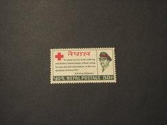 NEPAL - 1966 CROCE ROSSA - NUOVO(++) - Népal