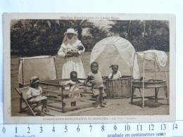 CPA Afrique - Congo - Dominicaines Missionnaires De Niangara - Les Petits Orphelins - Congo Belge - Autres
