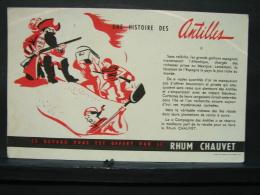 Buva. 12. Une Histoire Des Antilles. Rhum Chauvet - Liqueur & Bière