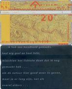 Telefonkarte Niederlande - L&G - 20 Units - 1990 - Vincent Van Gogh - 004F - öffentlich