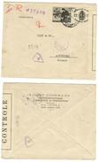 Bulgarie // Lettre Censurée Pour La Suisse - 1945-59 République Populaire