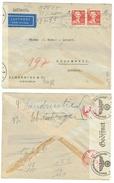Suède // 1945 //  Lettre Censurée Pour La Suisse - Suède