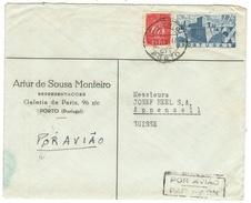 Portugal // Lettre Pour La Suisse - 1910-... République
