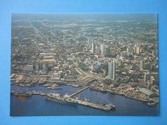 Manaus - Brasile - Vista Aerea Porto E Cidade - Manaus