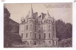 29 Chateau Du FROUT Manoirs De Bretagne Vicomte De Kersauson - France