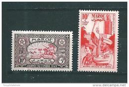 Colonie  Timbre Du Maroc De 1949   N°275/76  Neufs ** - Maroc (1891-1956)
