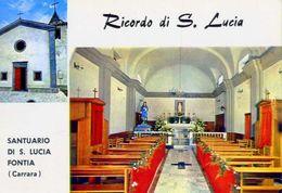 Carrara - Santuario Di S.lucia Fontia - 2 - Formato Grande Non Viaggiata – Ar - Carrara