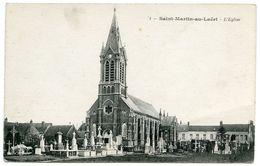 62 : SAINT MARTIN AU LAERT - L'EGLISE - France