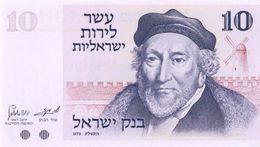 ISRAEL 10 LIROT 1973 PICK 39 UNC - Israel