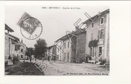 Gévrieux (01) - Quartier De La Poste (Photographie D'une Carte Postale) - Reproductions