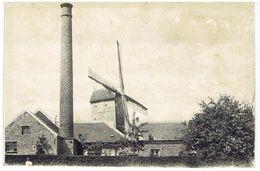 Sint-Katherina-Lombeek - Windmolen Deneef - Waarschijnlijk Afgeknipte Postkaart Afm. 12,5 X 8,5 Cm - Ternat