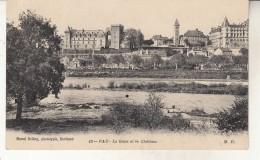 Pau    Le Gave Et Le Chateau - Pau