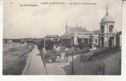 Saint Jean De Luz  La Plage Et Le Grand Casino - Saint Jean De Luz