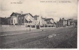Saint Jean De Luz  Le Boulevard Thiers - Saint Jean De Luz
