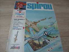 Supplement à Spirou 1872 Année 1974 : Tillieux : Felix  Drôle D'engin ! - Spirou Magazine