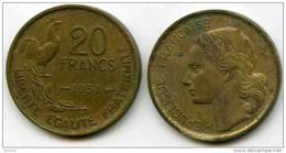 France 20 Francs 1951 GAD 865 KM 917.1 - Frankrijk