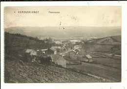 Rendeux Haut Panorama ( Attelage ) ( Etat Voir Dos ) - Rendeux