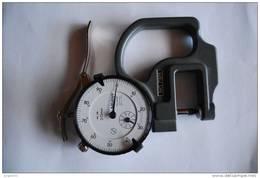 NIEUW ! Micrometer Voor Papierdikte, Mitutoyo 0.01 Mm-10mm, Normale Verkoopsprijs 100 € !!! - Timbres