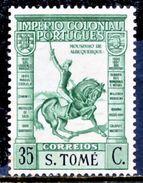 !■■■■■ds■■ St.Thomas 1938 AF#304** Empire Short Inscription 35 Cent (x11614) - St. Thomas & Prince