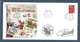 NOUVELLE CALEDONIE (New Caledonia) - Enveloppe évènementielle - Salon Des Collectionneurs De Nouméa 2017 - Club Le Cagou - Briefe U. Dokumente