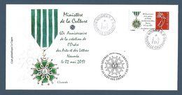 NOUVELLE CALEDONIE (New Caledonia)- Enveloppe événementielle Avec Timbre Personnalisé - 2017 - Médaille (medal) - Nueva Caledonia