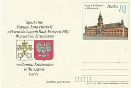 Poland 1987  Prepaid Card - Used Stamps