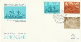 Surinam 1977 150th Anniversary Discovery FDC - Surinam