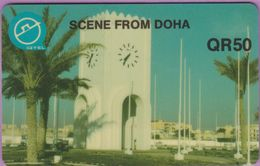 Télécarte Qatar °° Scene From Doha-QR50-1814 - Qatar