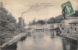 16 ANGOULEME LA CHARENTE A ST CYBARD LA PAPETERIE - Angouleme