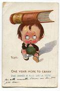 CPA  Illustrateur : RIGHT Enfant Bonne Année 1919       VOIR  DESCRIPTIF  §§§ - Right
