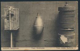 Ansichtskarte Feldpost 1916 Nach Brakel Granate Stinkbombe Mine - Deutschland